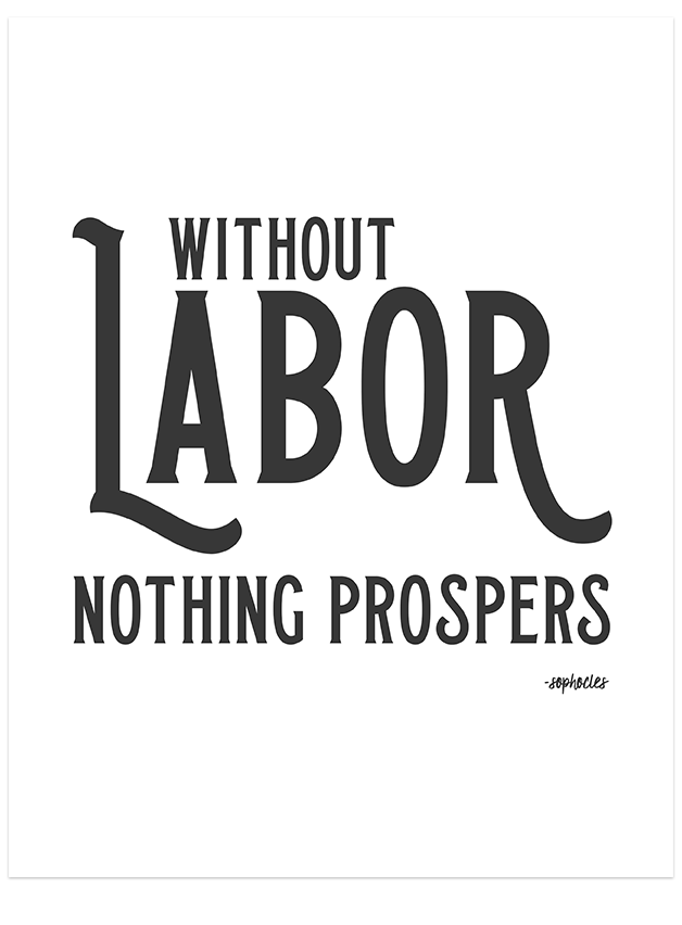 image relating to Closed for Labor Day Printable Sign known as Labor Working day Dwelling Decor Prints Free of charge Printable Down load