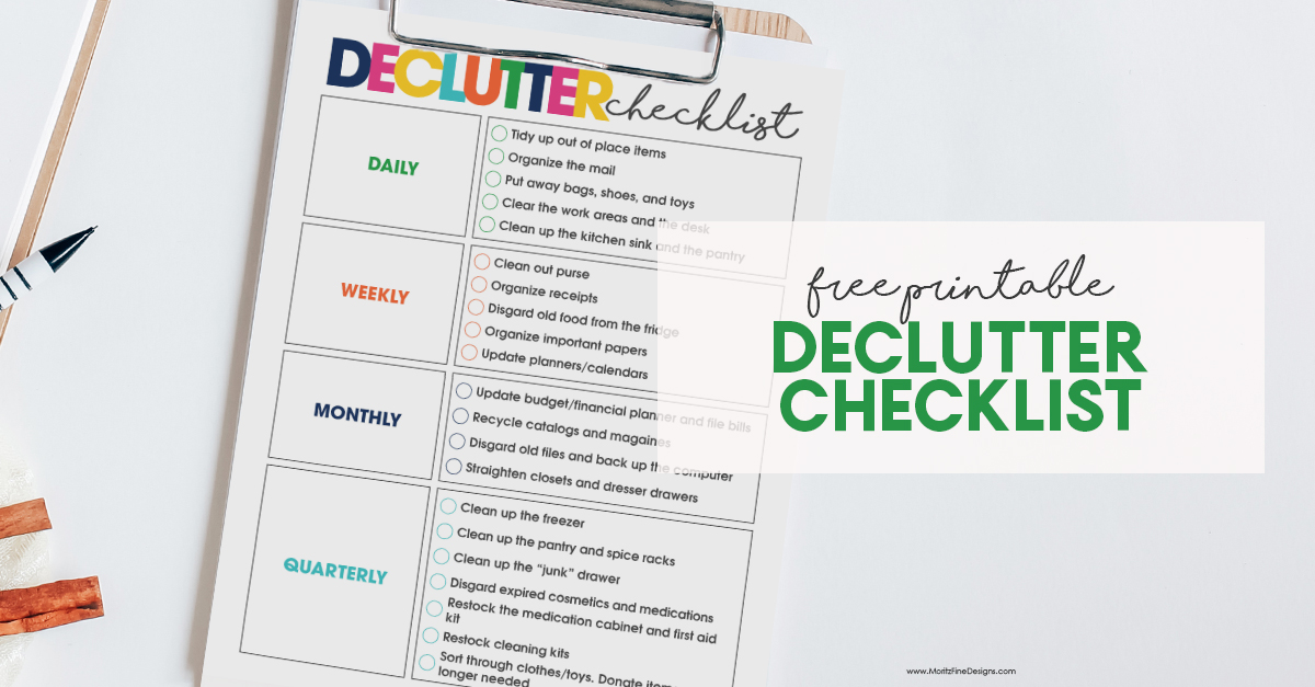 Full Home Cleaning Checklist