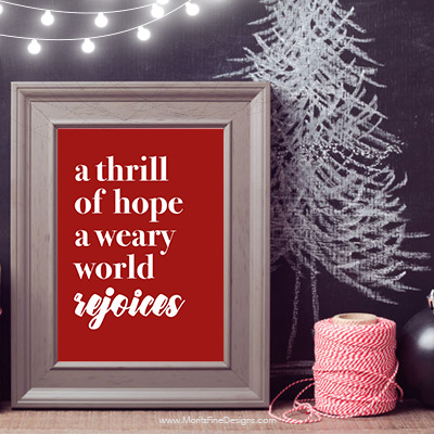 Quickly and easily add Magnolia style home decor to your house for Christmas with this adorable Christmas Printable Free Sign.