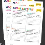 Setting goals is easy, Achieving goals is not. Use the free printable Quarterly Goal Setting Worksheets to help you achieve this year's goals.