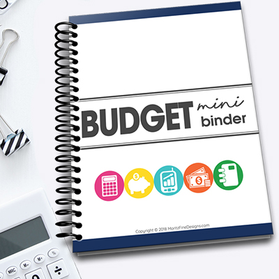 Mini Budget Binder | Free Printable Download