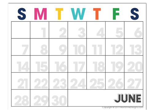 This free 2020 printable calendar is exactly what you need to get organized. It's easy to download, print and begin using instantly.