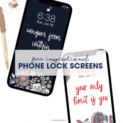 Inspirational Phone Lock Screens