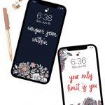 Free Inspirational Phone Lock Screen Wallpapers