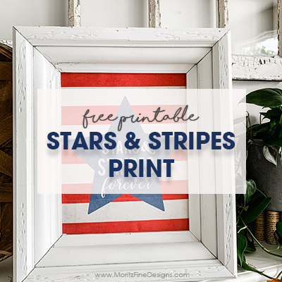 Stars & Stripes Printable | 4th of July