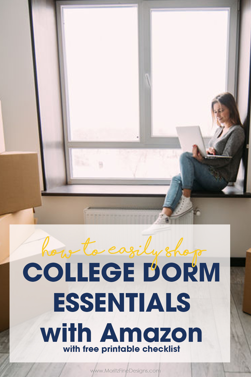 How to Easily Shop College Dorm Essentials with Amazon