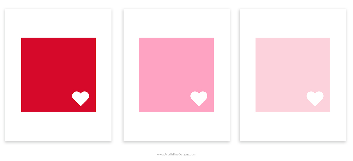 Decorate your home with this free Valentine's Day Home Decor printable. Easy to download, print and frame in just minutes.