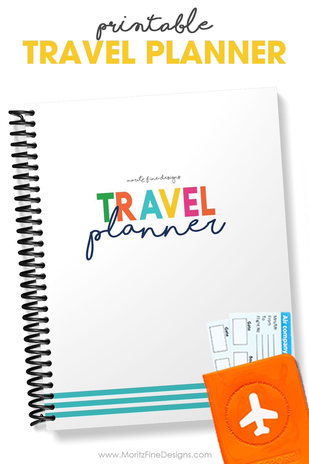 The Printable Travel Planner will make planning your next trip easy-from helping you create a travel budget to making an itineray and everything in between.