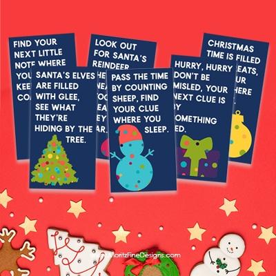 Christmas Treasure Hunt for Kids
