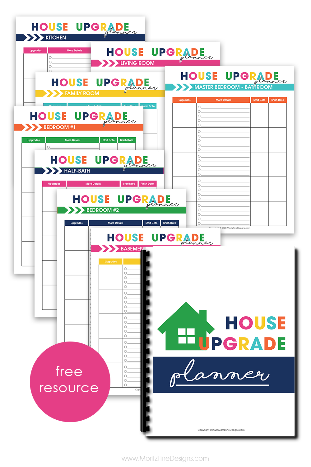 When you make changes to your home, you can keep track of every upgrade, from lighting to flooring and everything in between, in the House Upgrade Planner.