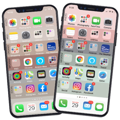 Organize your iPhone in just minutes! Your iPhone home screen will never be the same again. Use our awesome FREE download!