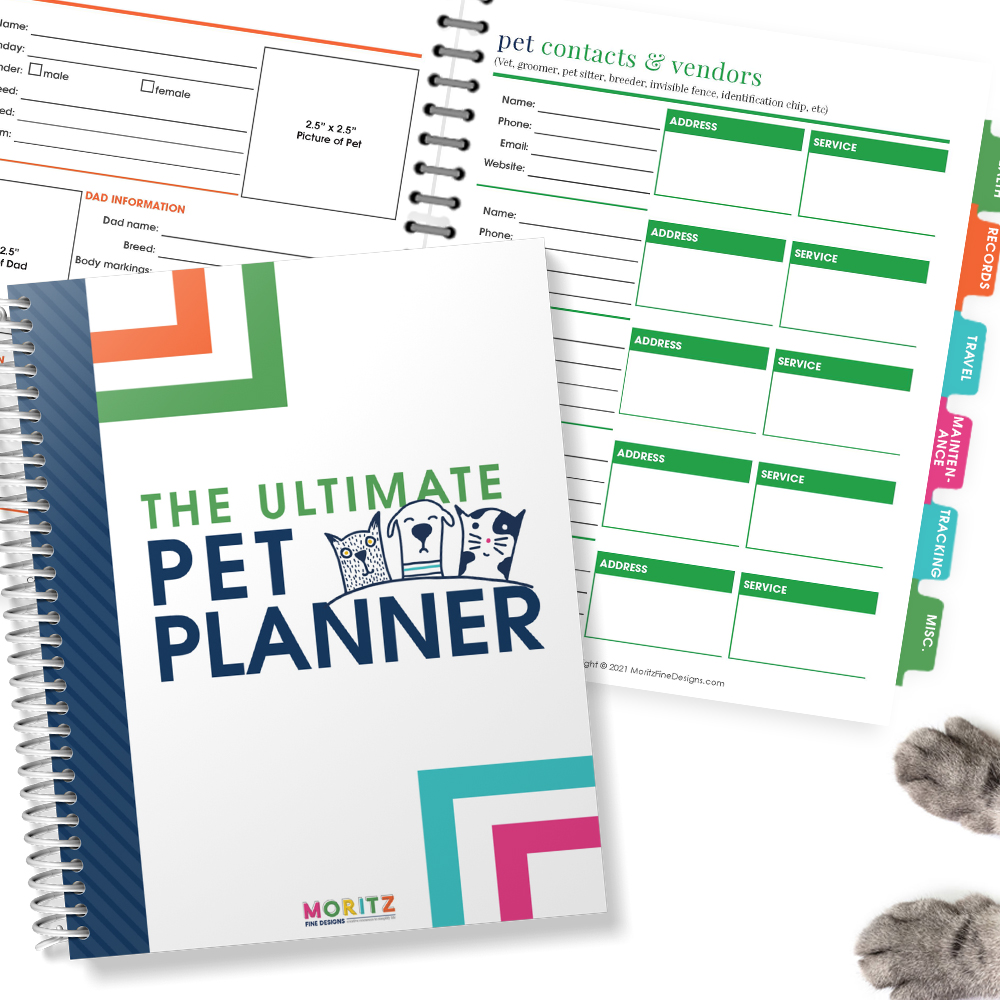 The Ultimate Pet Planner