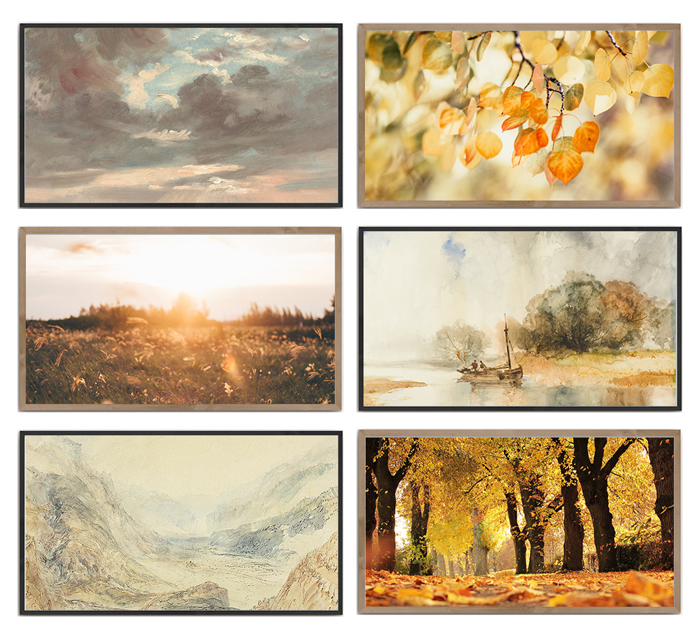 Update your Samsung Frame TV with one of these beautiful free instant download digital prints. Simply upload and display in just minutes.