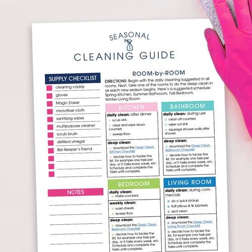 Seasonal Cleaning Guide
